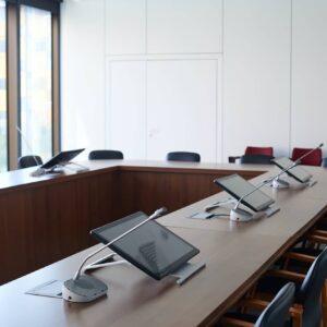 Board room at modern office